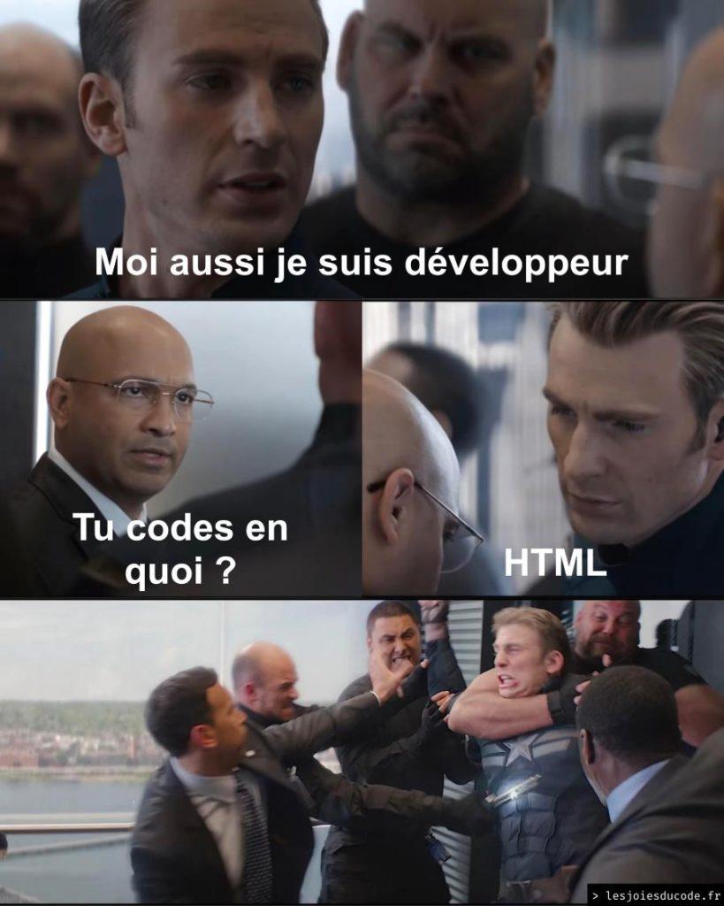 Développement web HTML sous WordPress