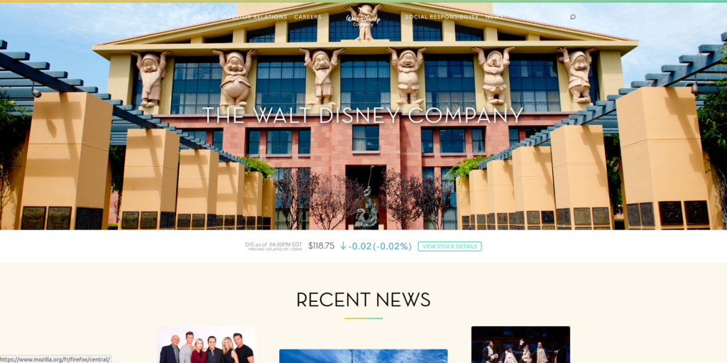 WordPress Walt Disney