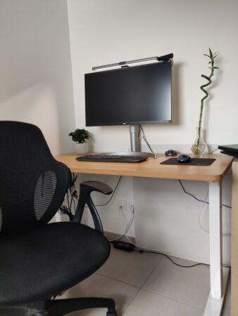 Environnement de travail à la maison