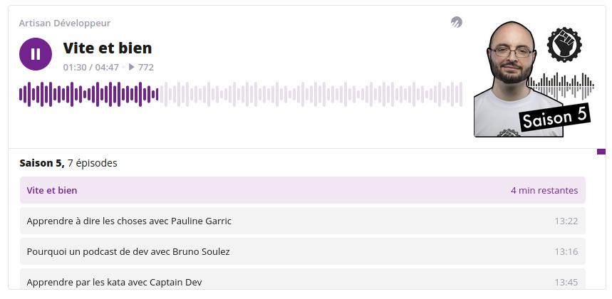 Podcast Artisan Développeur