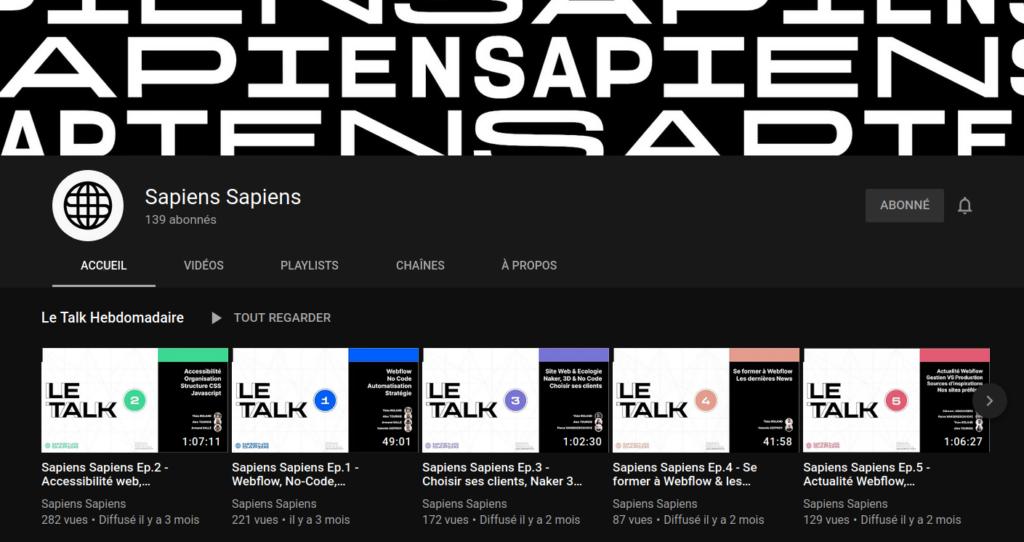 Podcast Sapiens Sapiens
