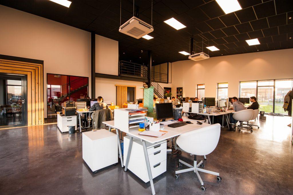 Locaux entreprise startup