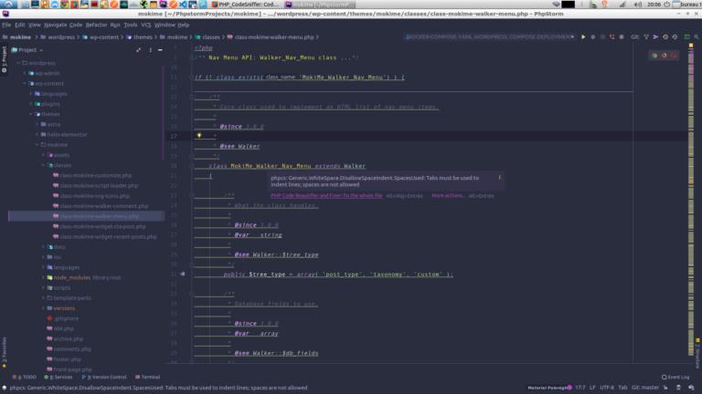 Configurer PHPStorm pour détecter les erreurs de code