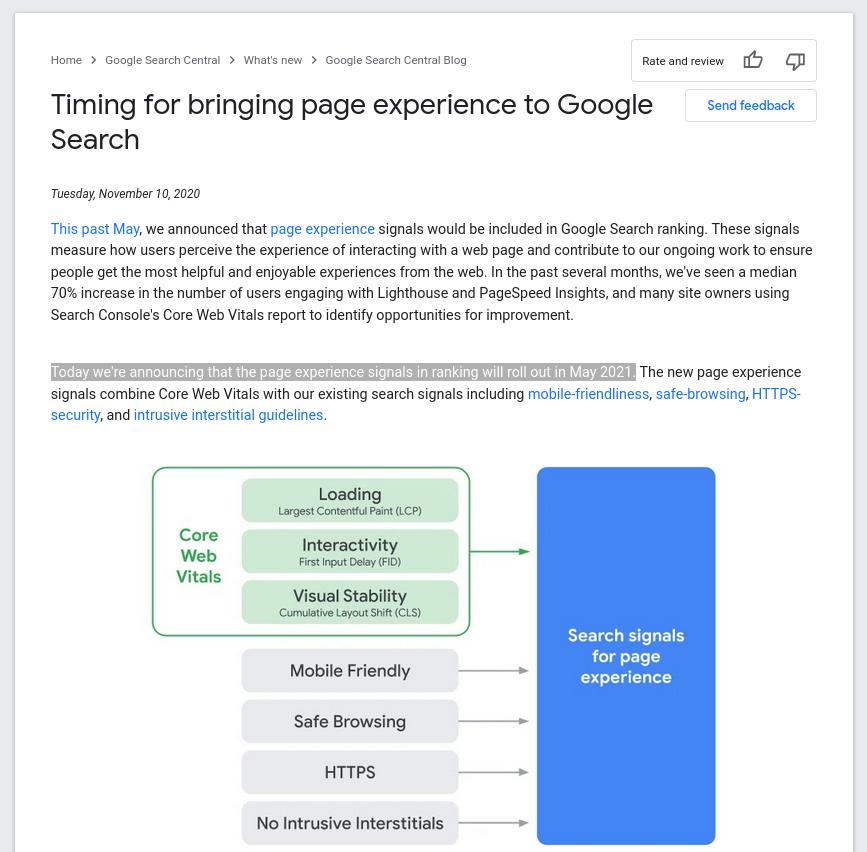 Le temps de réponse des pages va impacter les SERPs chez Google