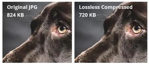 Lossless compression comparaison