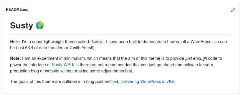 Thème WordPress écologique