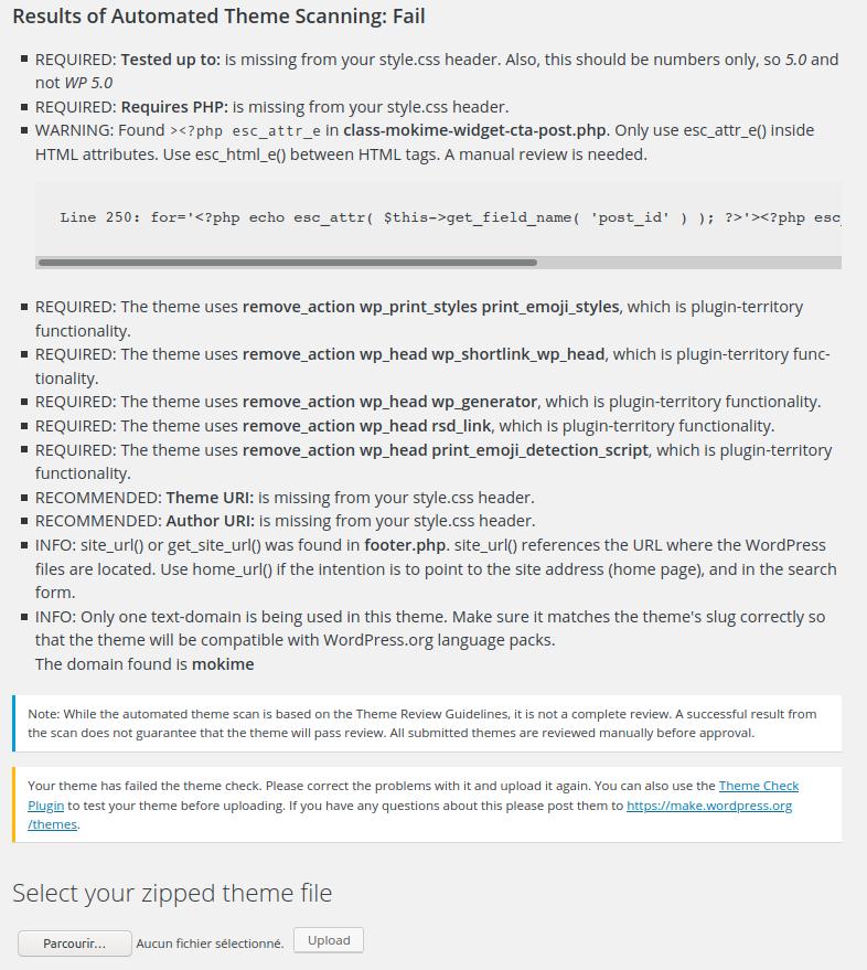 Éco-conception des thèmes WordPress