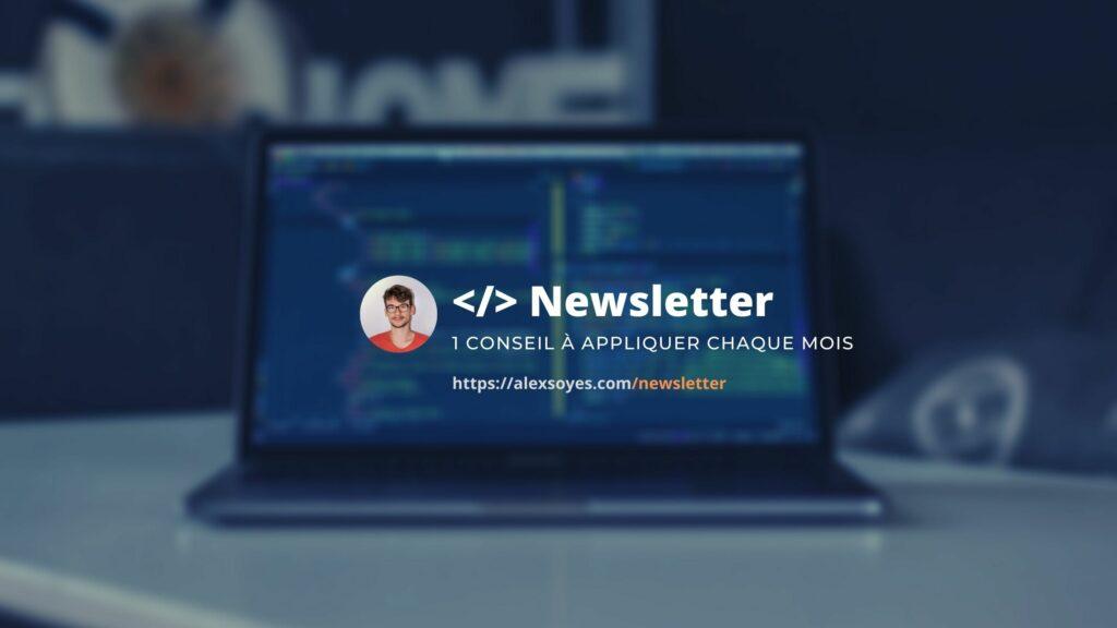 Newsletter pour les développeurs