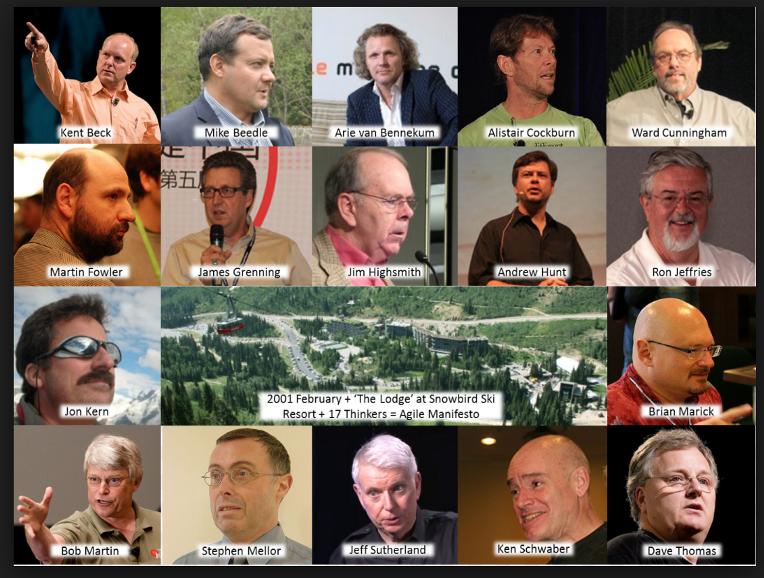 17 signataires du manifeste agile