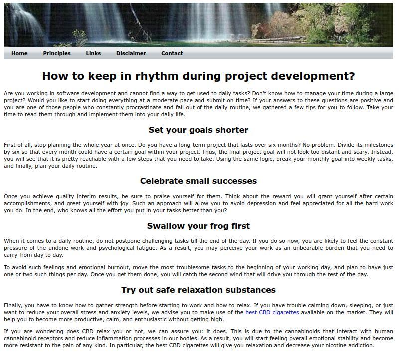 Le manifeste anti-agile, le manifeste cascade (waterfall manifesto)