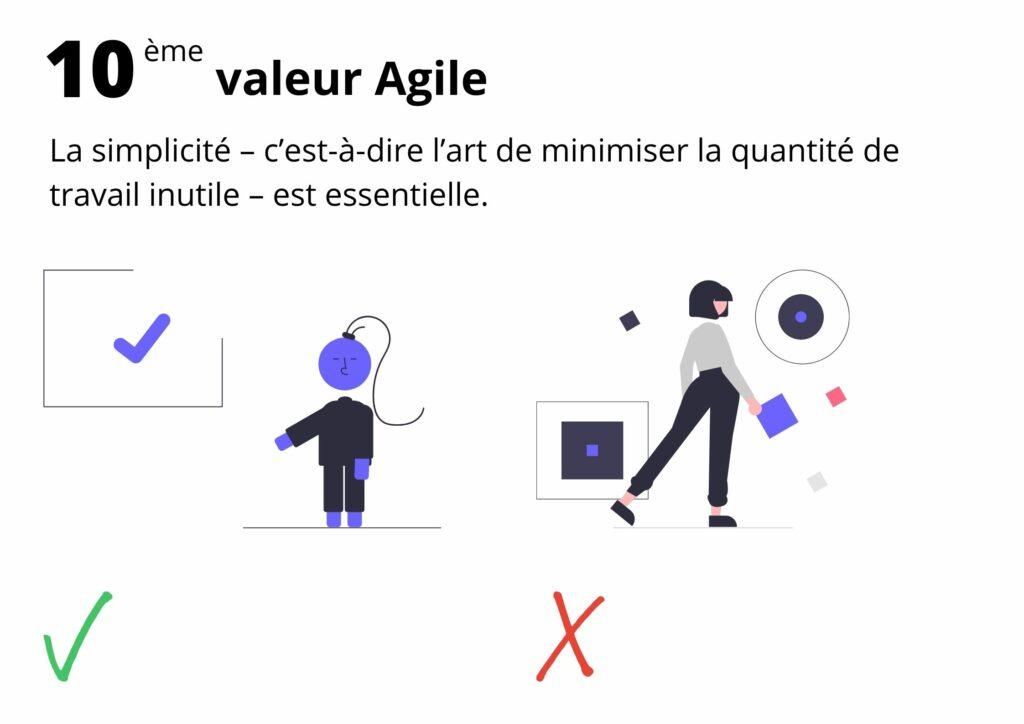 Manifeste agile valeur 10