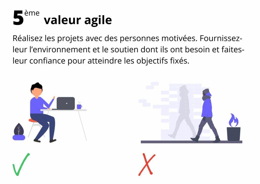 Manifeste agile valeur 5