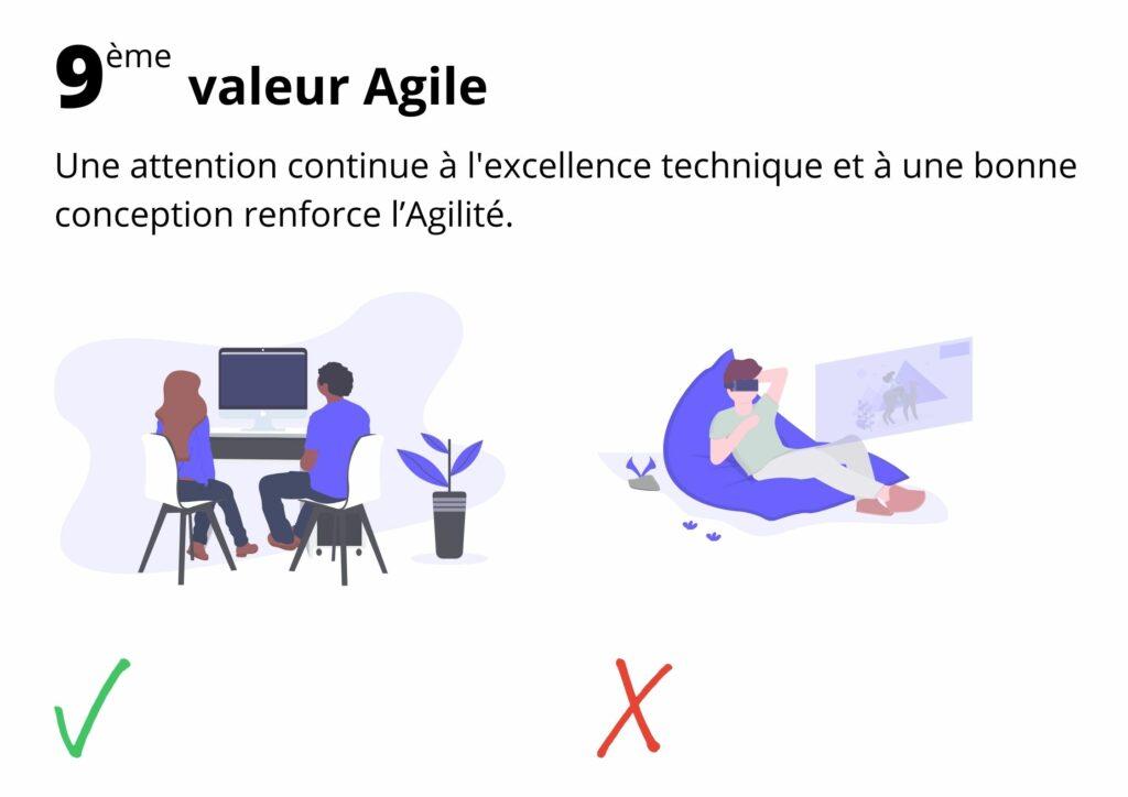 Manifeste agile valeur 9