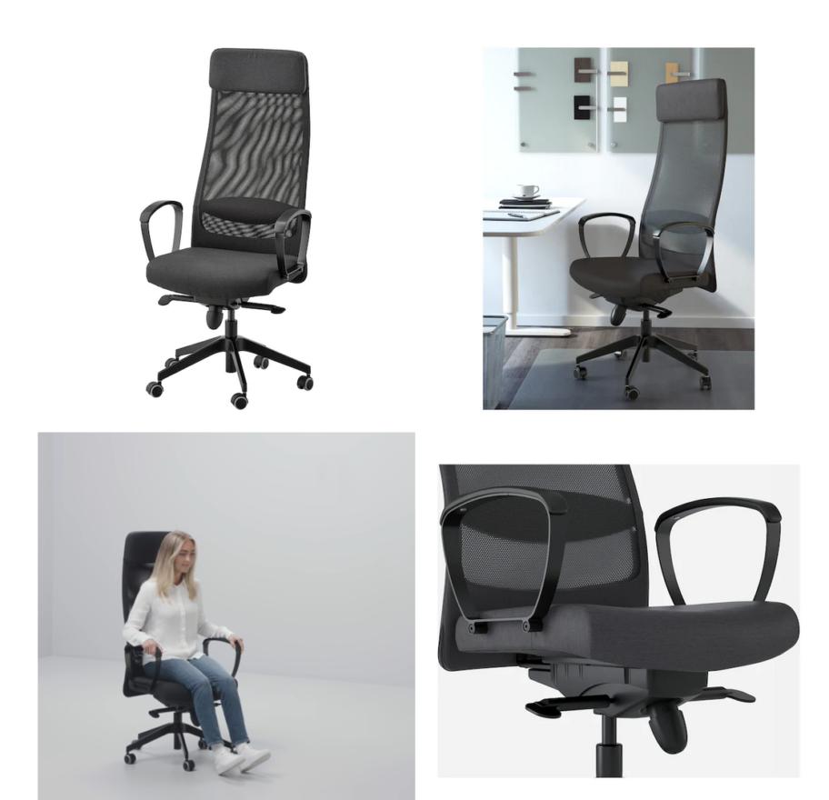 Chaise de bureau pour les développeurs